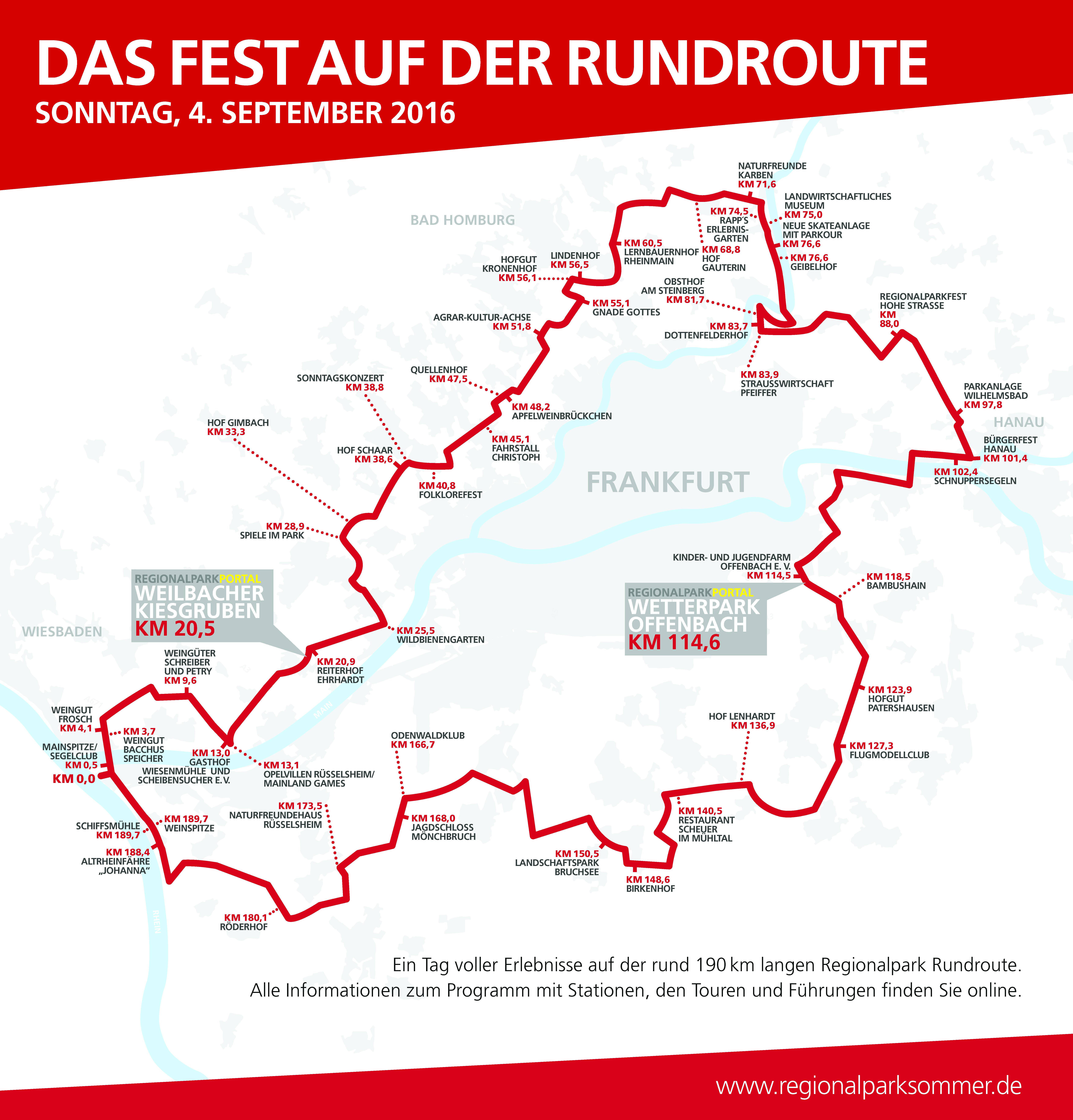 Regionalpark Rundroutenfest Auch Konigstein Ist Dabei Stadt